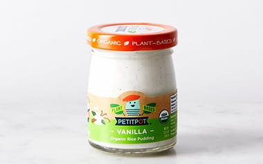 Organic Vegan Coconut Vanilla Rice Pudding