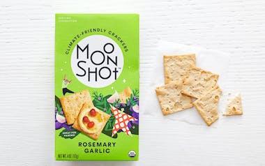 Organic Rosemary Garlic Crackers