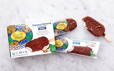 Organic Vegan Coconut Almond Chocolate Bars