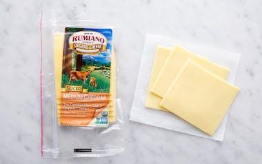Organic Sliced Medium Cheddar