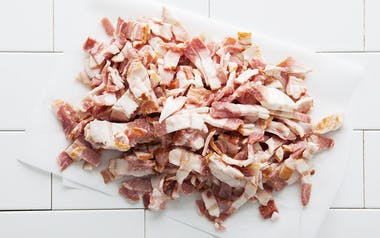 Pastured Uncured Bacon Ends and Pieces (Frozen)
