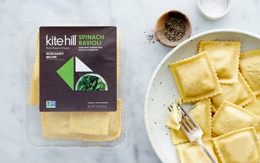 Dairy-Free Spinach Ravioli