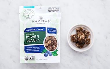 Organic Blueberry Hemp Power Snacks