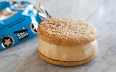 Snickerdoodle & Salted Caramel Ice Cream Sandwich