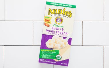 Organic Shells & White Cheddar Pasta