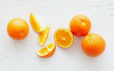Organic Large Navel Orange Trio