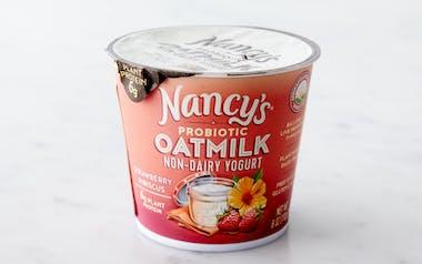 Strawberry Hibiscus Oatmilk Yogurt