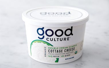 Organic Double Cream Classic Cottage Cheese