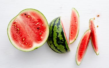 Organic Tiger-Striped Watermelon