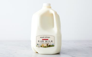 Whole Raw Milk