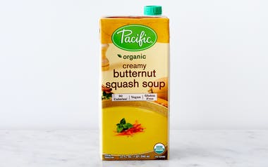 Organic Creamy Butternut Squash Soup