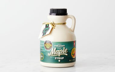 Grade A Amber Rich Organic Maple Syrup