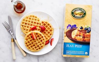 Organic Flax Plus Waffles