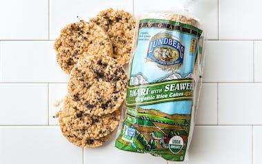 Organic Tamari with Seaweed Rice Cakes