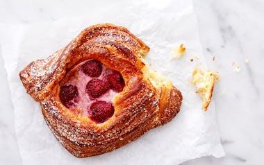 Seasonal Danish (Raspberry Cream Cheese)