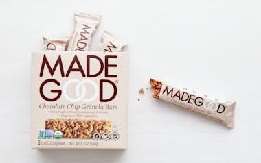 Organic Chocolate Chip Granola Bars