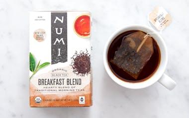 Organic Breakfast Blend Tea Bags