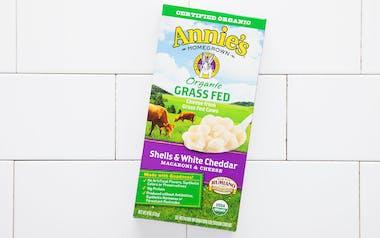 Organic Shells & Grass-Fed White Cheddar Pasta