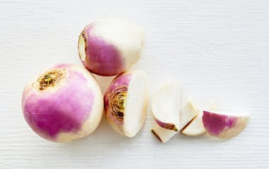Organic Purple Top Turnips