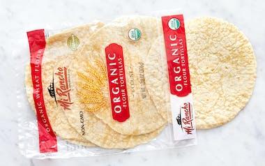 Organic Soft Taco Flour Tortillas