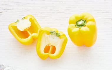 Organic & Fair Trade Large Yellow Bell Pepper Duo (Mexico)