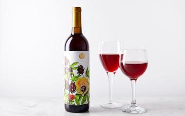 RoseHybiscus Flower Wine