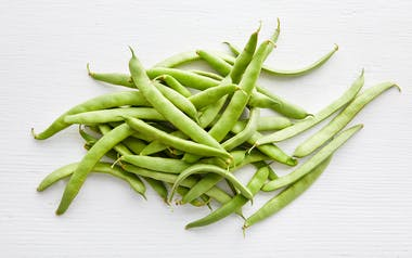 Organic Green Romano Beans