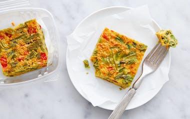 Vegetable & Turmeric Kuku Frittata