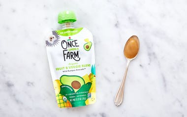 Organic Avocado Baby Food (7+ mos)