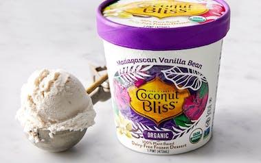 Organic Vegan Vanilla Coconut Ice Cream