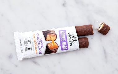 Dark Chocolate with Salted Caramel Cookie Bar