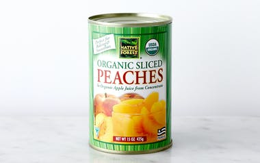 Organic Sliced Peaches