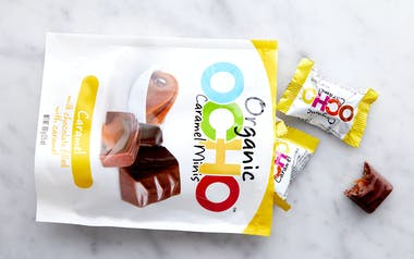 Organic Chocolate Caramel Minis