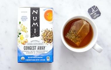 Organic Congest Away Tea Bags