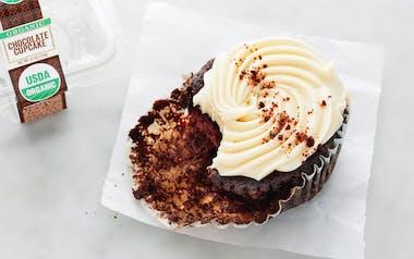 Organic Cookies & Cream Cupcake
