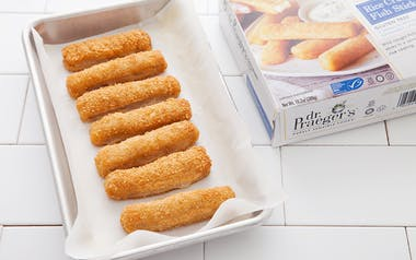 Lightly Breaded Fish Sticks