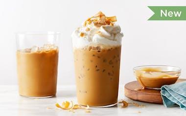 Coconut-Caramel Iced Coffee
