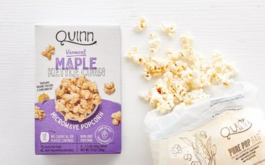 Vermont Maple & Sea Salt Microwave Popcorn