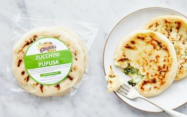 Zucchini & Cheese Pupusas