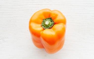 Organic & Fair Trade Large Orange Bell Pepper (Mexico)
