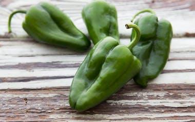 Organic & Fair Trade Poblano Peppers (Mexico)