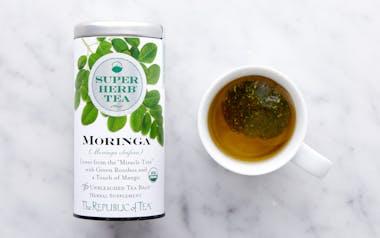 Organic Moringa SuperHerb Tea
