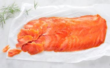 Wild Coho Smoked Salmon Lox (Frozen)