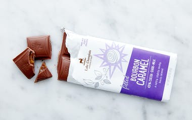 Filled Bourbon Caramel Milk Chocolate Bar