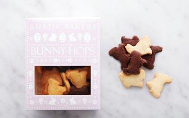 Vanilla & Chocolate Easter Bunny Cookies