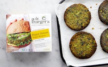 Super Green Veggie Burger