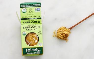 Organic Ground Coriander