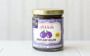 Akka's Eggplant Relish - Indian Pickle