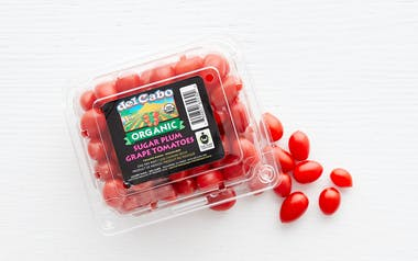 Organic & Fair Trade Sugar Plum Grape Tomatoes (Mexico)