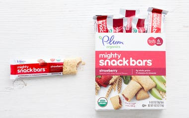 Organic Strawberry Mighty Snack Bars